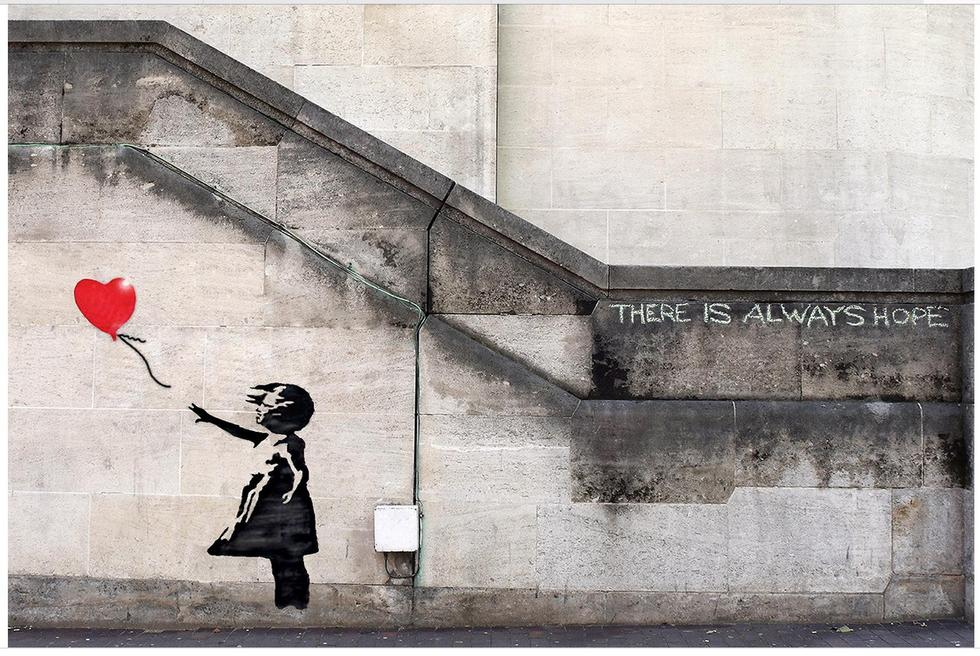 Banksy 'There is always hope'