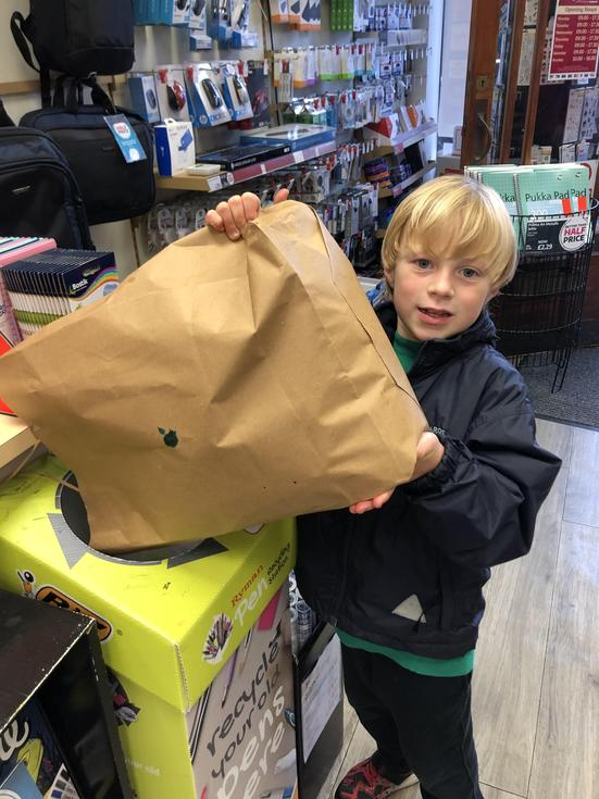 Recycling with Ryman's Chichester