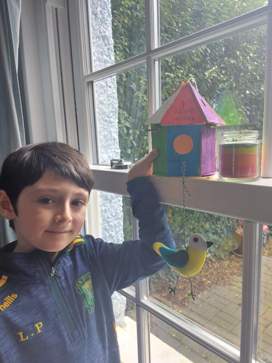 Lochlan- 'Birdhouse of hope' - Beech