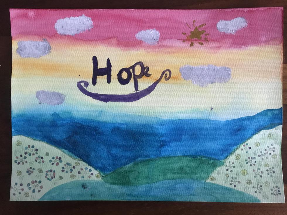 Beatrix - 'Hope on the horizon'- Silver Birch