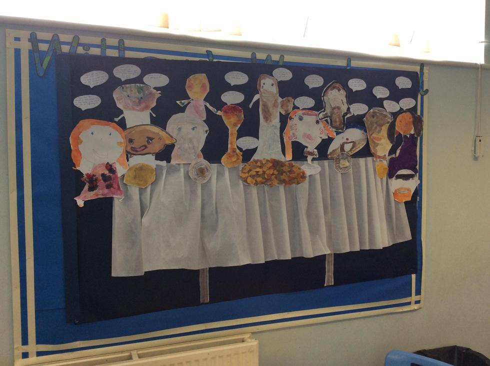 KS1 Collaborative work - The Last Supper