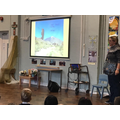 Year 3 & 4 enjoyed a visit from a voclano explorer
