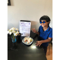Rayyan's Cafe. Raising money for the NHS
