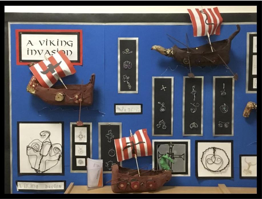 Sculptures: Viking Boats
