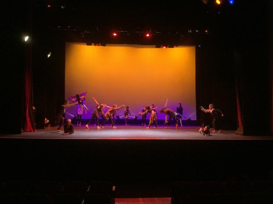 Lion King dance performance - Broadway Theatre