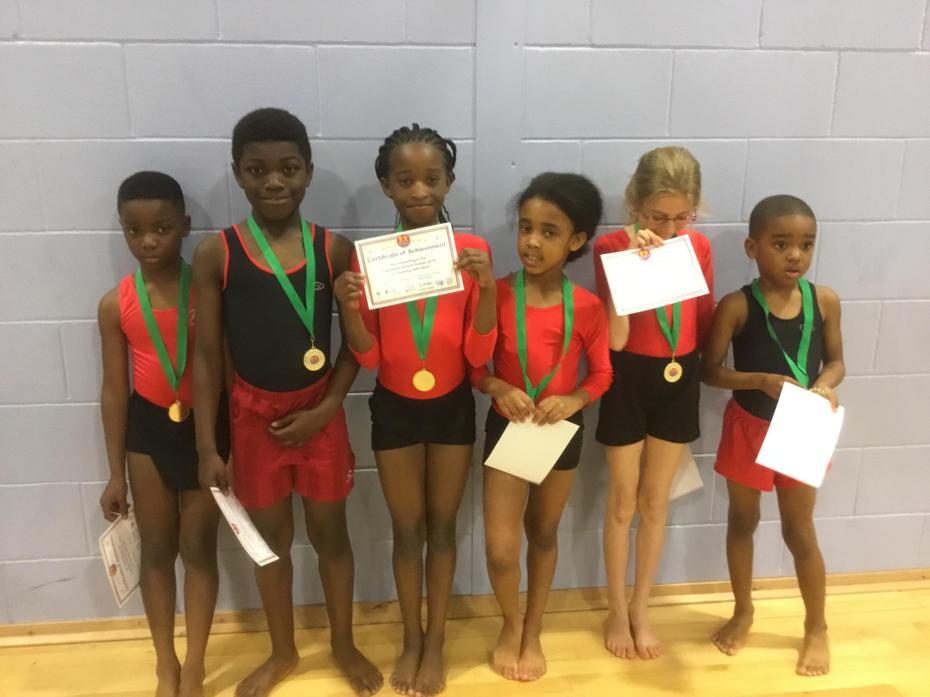 Yr 3 & 4 Gymnastics 4th Place Medal