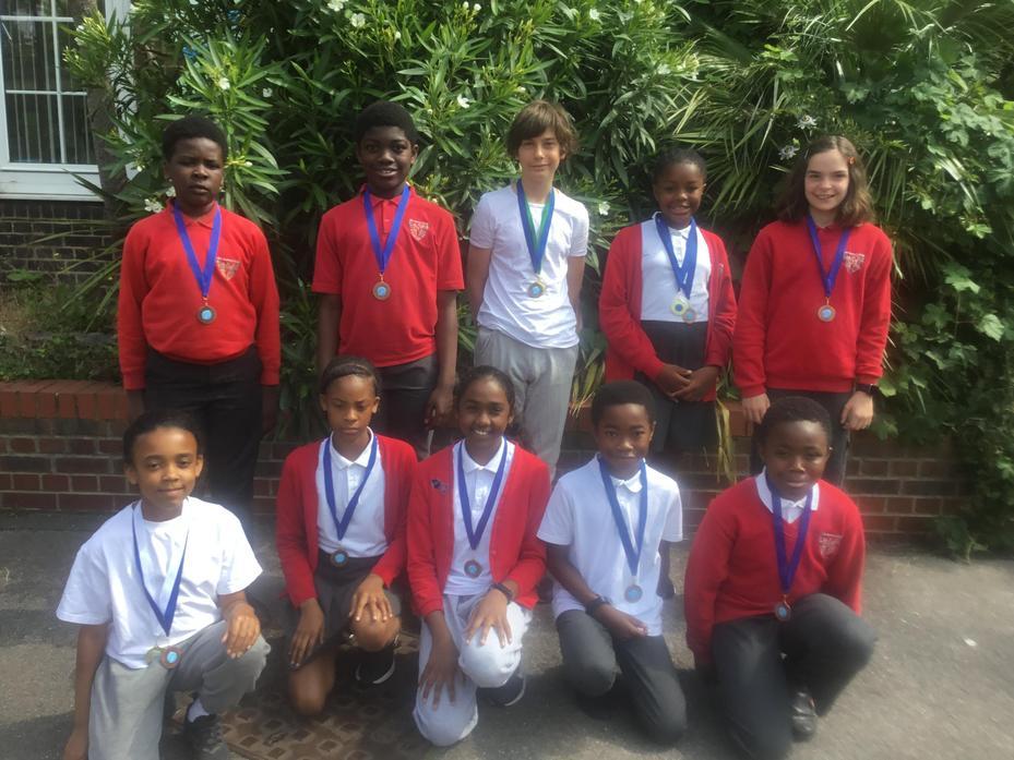 Quad Athletics: Bronze medal