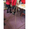 DT: Building a 3D Pyramid