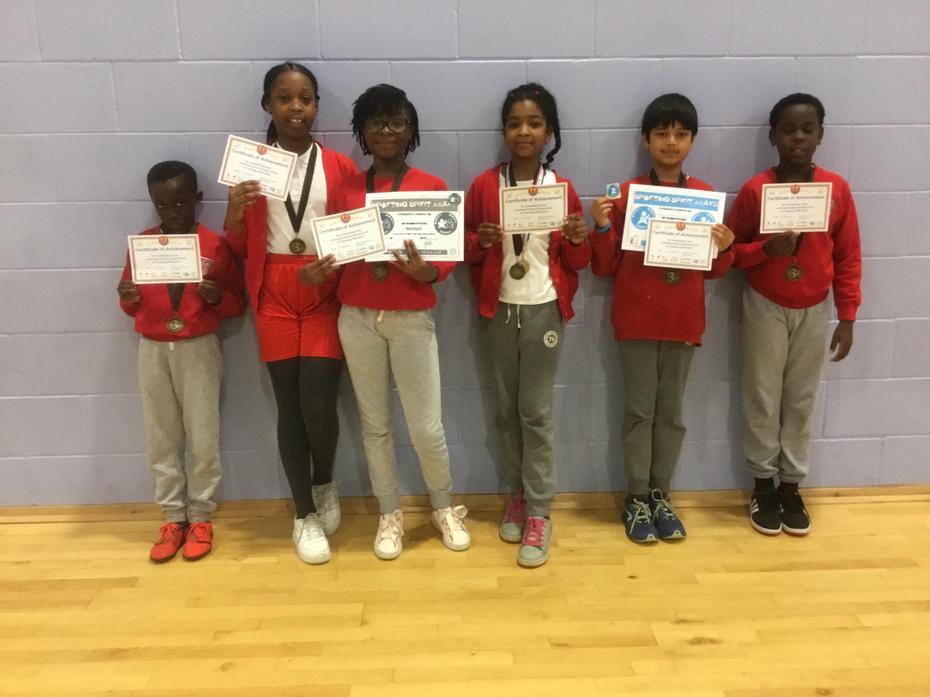 Yr 5 & 6 Gymnastics Bronze Medal