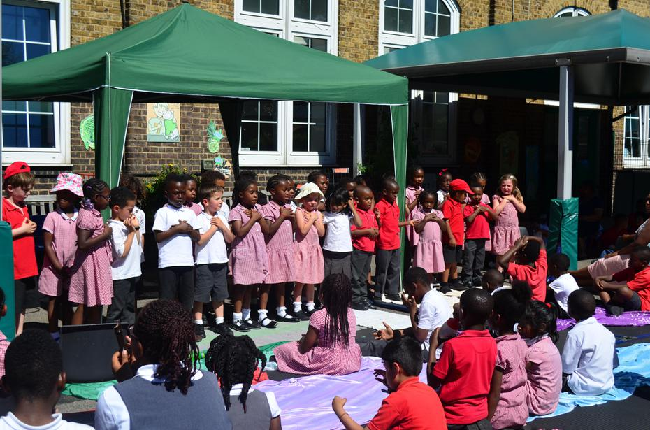 Proms in the playground