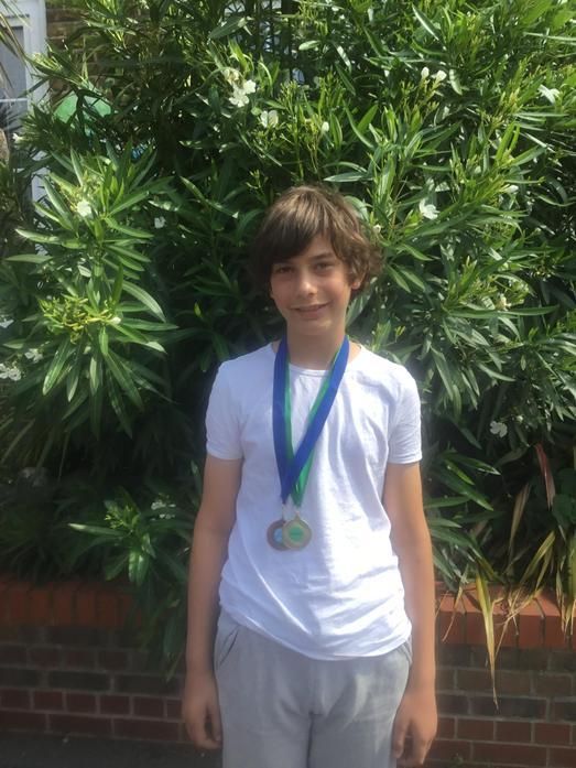 Quad Athletics: Individual Silver Medal Winner