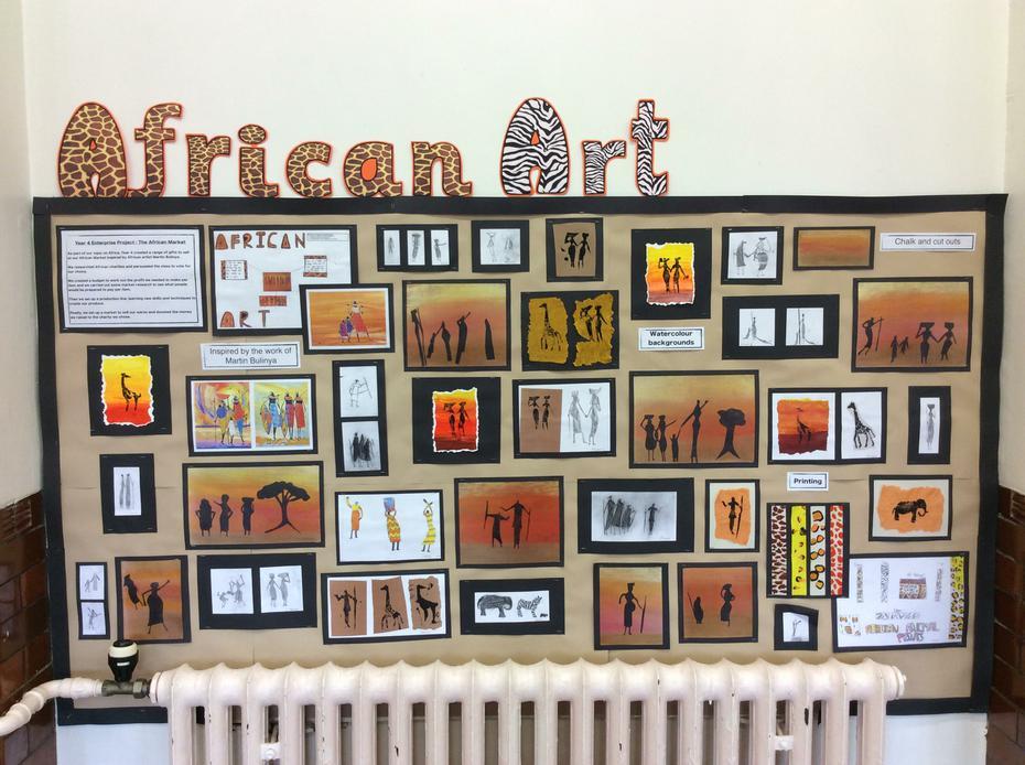 Year 4 (2016) African Art - Enterprise Project