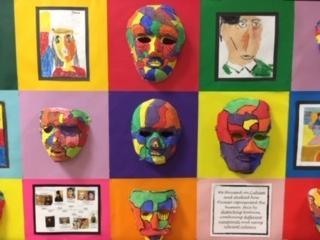 Mod Roc Masks: Inspired by Picasso