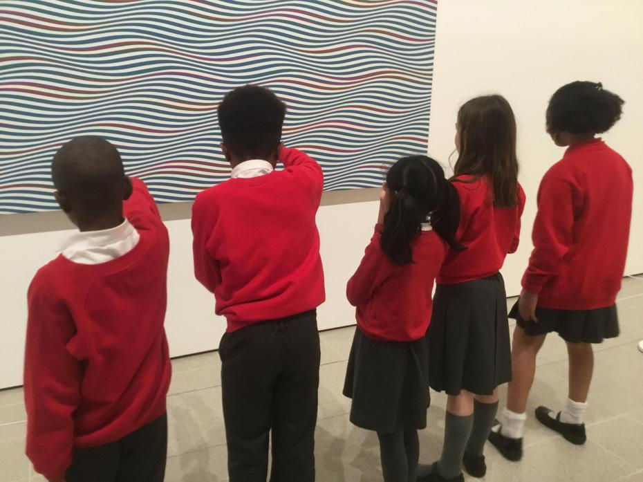 Bridget Riley Exhibition: Hayward Gallery