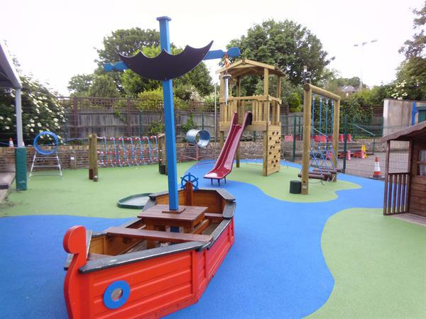 New Reception Playground