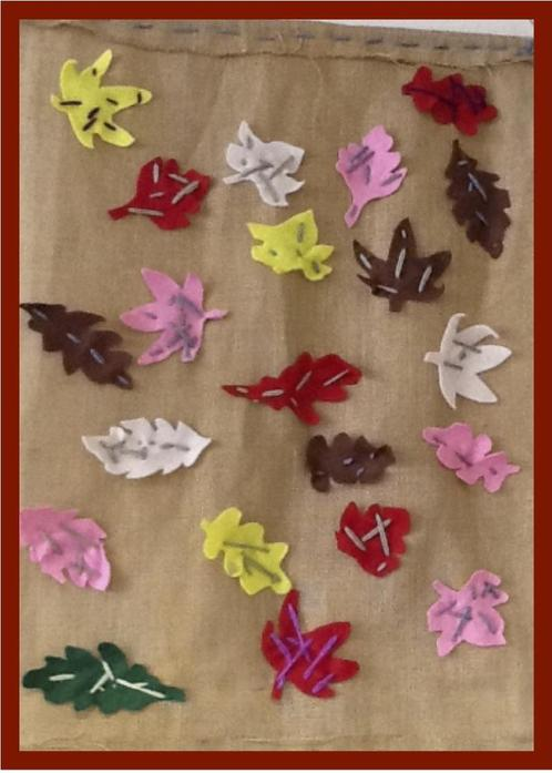 Textiles: Nursery Wall Hanging