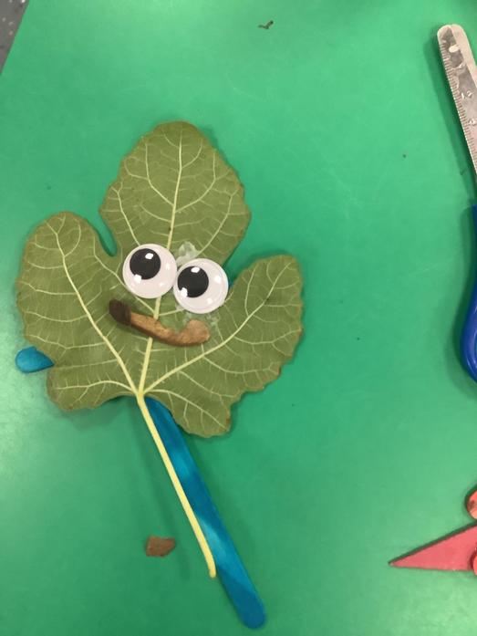 'Leafman' inspired characters