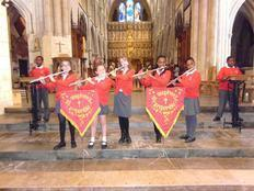 Year 6 Perform at Southwark Cathedral