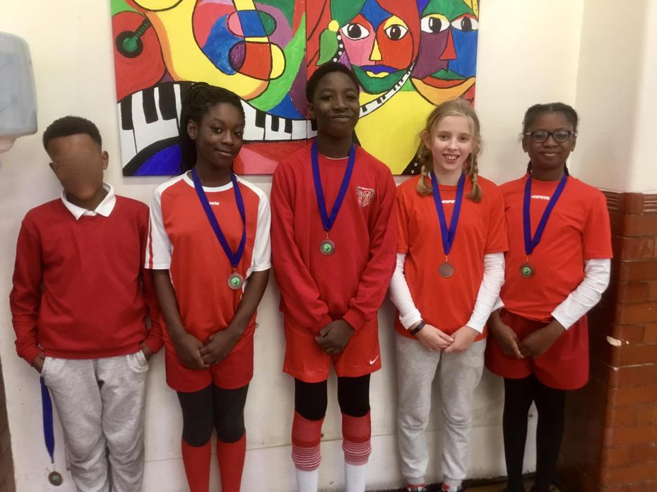 Yr 5 & 6 Netball Bronze Medal