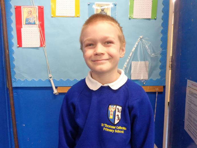 Well done to our star of the week - for his improved attitude to all things school