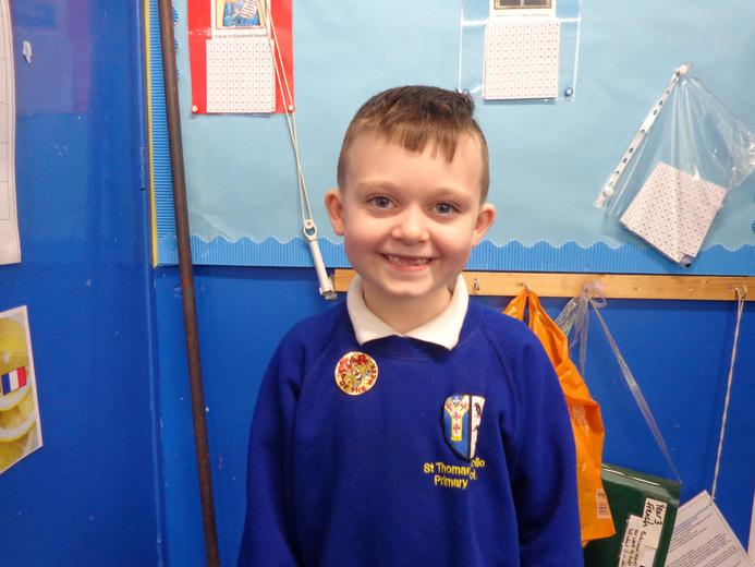 Well done to our star of the week - for his independent learning in his Maths