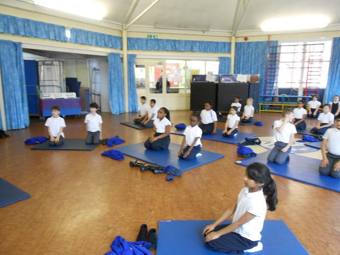Yoga in Year 4