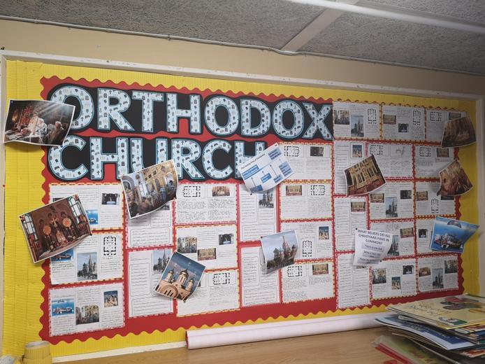 Year 3 - Orthodox Church