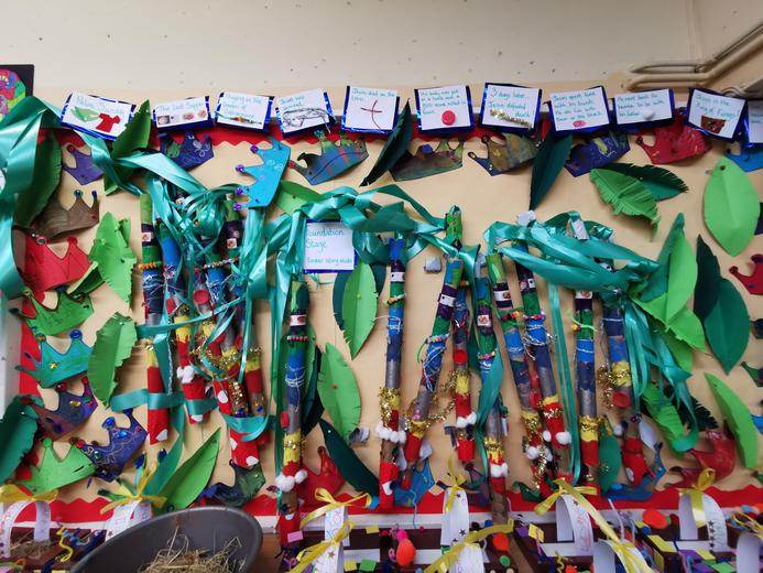 Foundation Stage - Easter Story Sticks