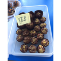 Class 3 Winner: Mary  (Chocolate Chip Muffins)