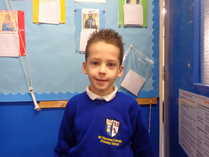 Well done to our star of the week - for his wonderful nature and charming personality