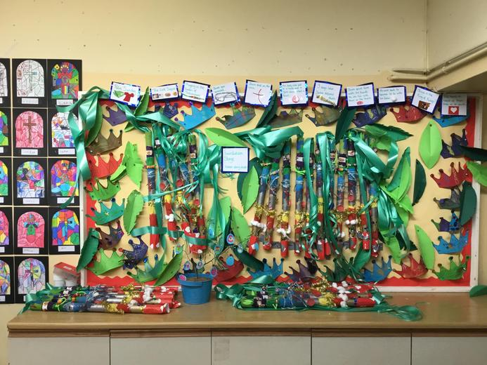 Our beautiful Easter display!