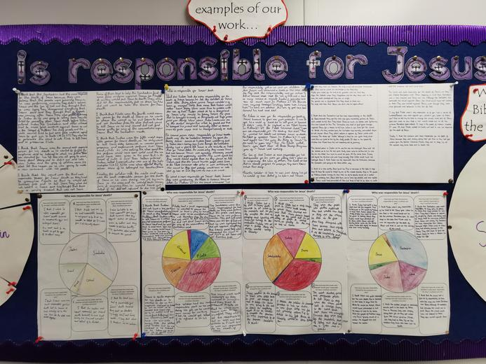 Year 6 - Who was responsible for Jesus' Death?