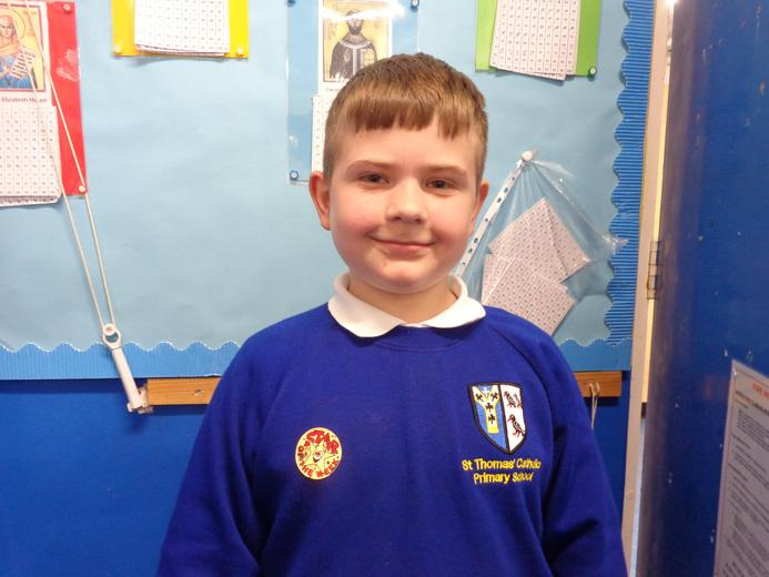 Well done to our star of the week - for his fantastic handwriting