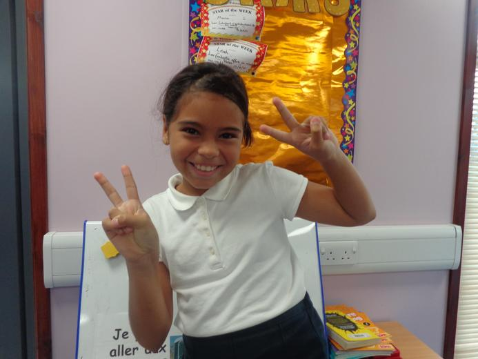 Well done to our star of the week - for her fantastic predictions for the book 'Holes'