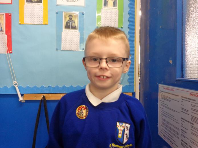 Well done to our star of the week - for his determination to succeed.
