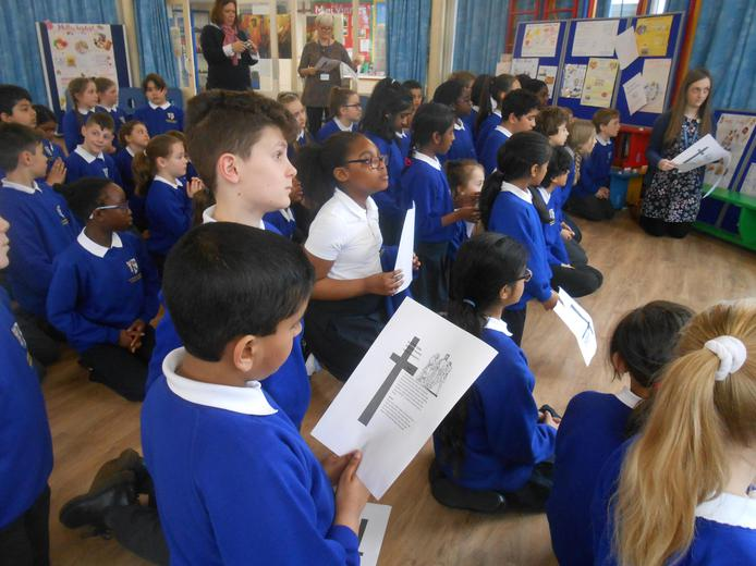 Year 5 and 6 Stations of the Cross