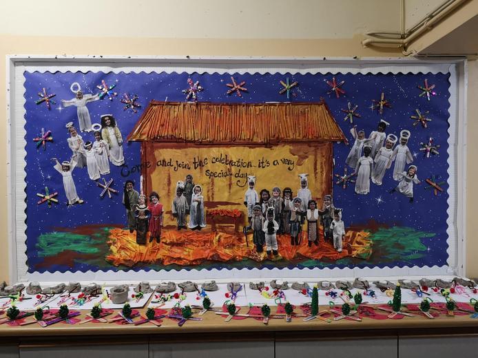 Reception: Jesus is born
