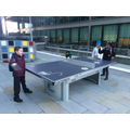 Playing table tennis at Microsoft!