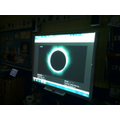 Watching the lunar eclipse on our Smart boards.