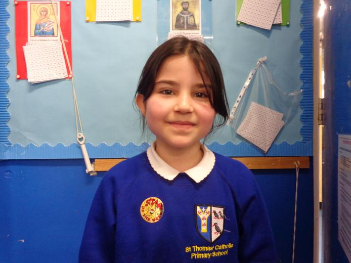 Well done to our star of the week - for her fantastic attitude to all her learning
