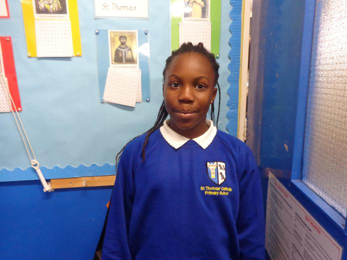 Well done to our star of the week - for her amazing attitude to life