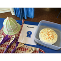 Parent cakes (including winner Mrs Grana Mata)