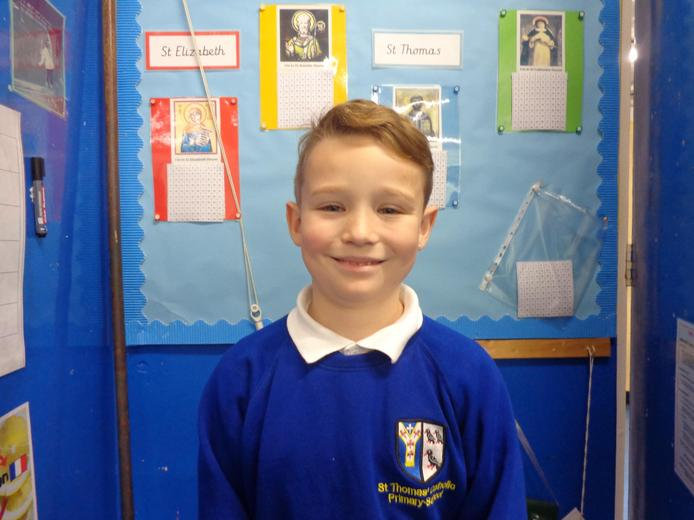 Well done to our star of the week - for always trying to better himself in his learning.