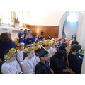 Year 4 ready in the Church