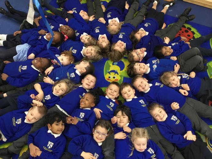 Such a joyful bunch of children!