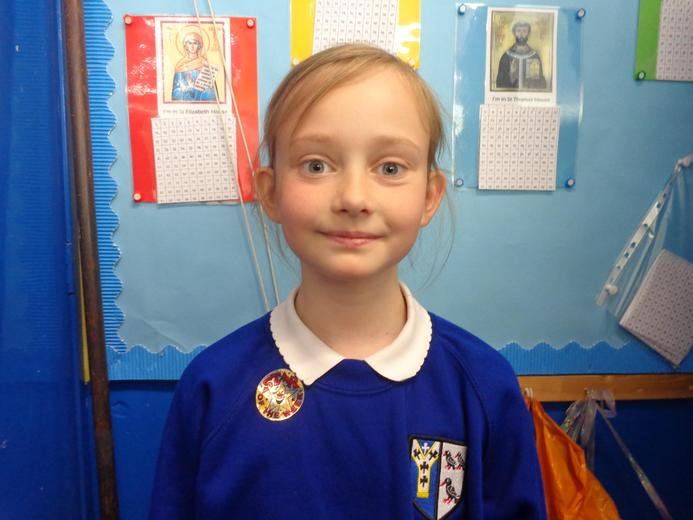 Well done to our star of the week - for settling into life at St. Thomas' well