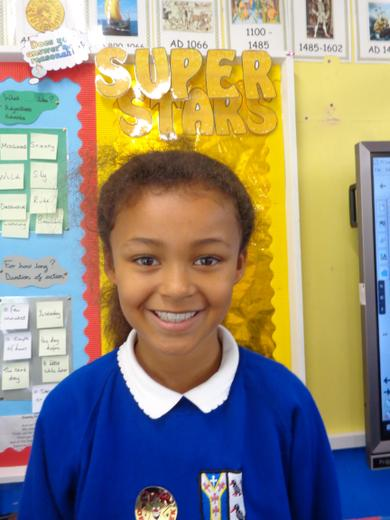 Well done to Year 3's star of the week - for her fantastic attitude to all things year 3.