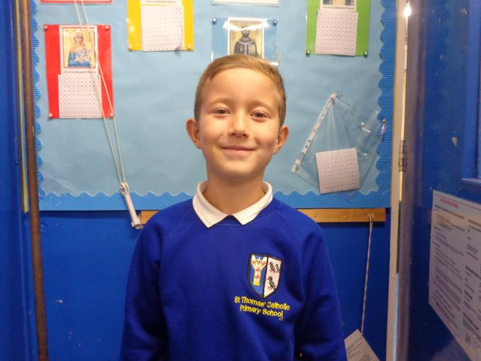 Well done to our star of the week - for his amazing use of personification in his writing.