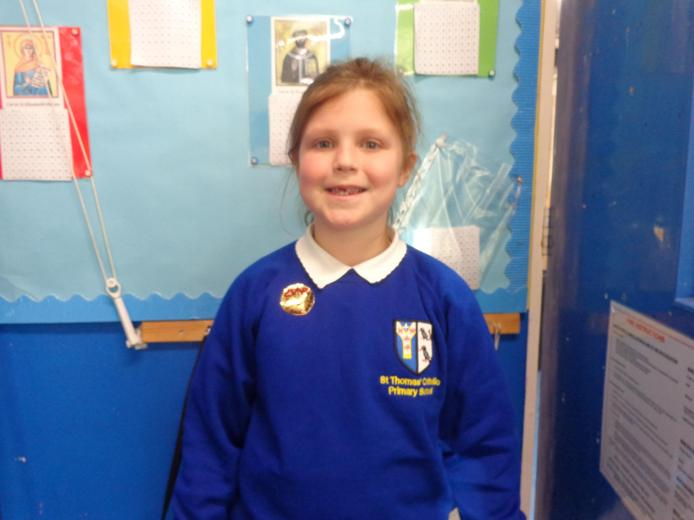 Well done to our star of the week - for believing in herself by tackling challenging tasks