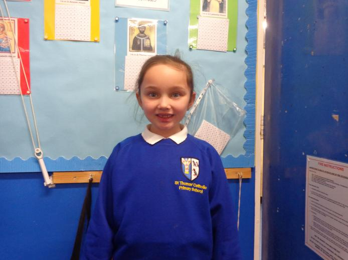 Well done to our star of the week - for her enthusiasm and hard work to her learning.